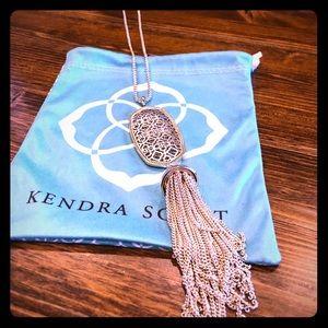 Kendra Scott Silver/Gold Long Necklace